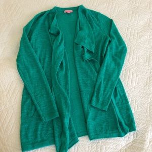EUC Lilly Pulitzer cardigan in Teal